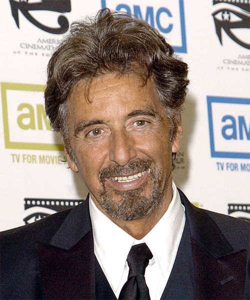 Al Pacino Short Wavy Casual Hairstyle