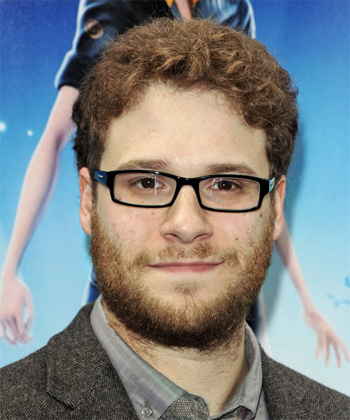 Seth Rogen Short Wavy Casual Hairstyle