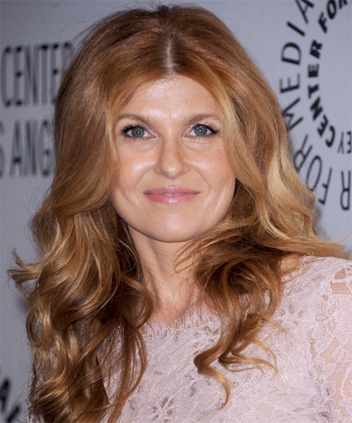 Connie Britton Long Wavy Casual Hairstyle Light
