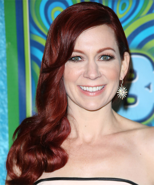 Carrie Preston Formal Long Wavy Hairstyle
