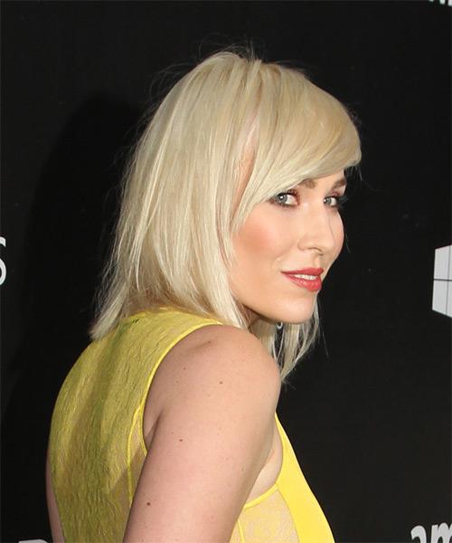 Natasha Bedingfield Medium Straight Casual Hairstyle With