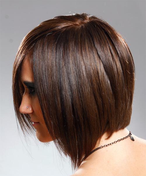 Medium Straight Alternative Hairstyle Brunette Hair Color