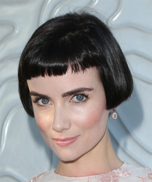 Victoria Summer Short Straight Casual Bob Hairstyle With