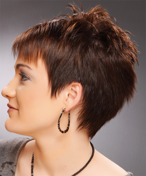 Casual Short Straight Pixie Hairstyle