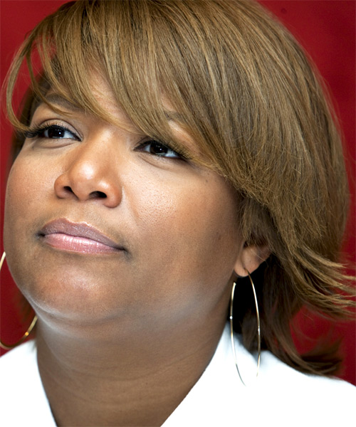 Queen Latifah Short Straight Formal Hairstyle