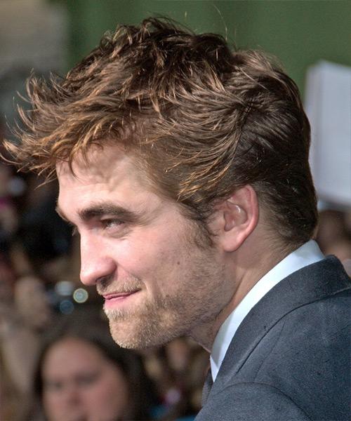 Robert Pattinson Short Straight Casual Hairstyle