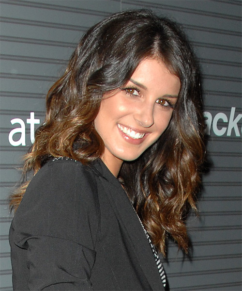 Shenae Grimes Long Wavy Casual Hairstyle