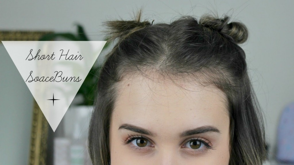 How To Space Buns Super Cute Hairstyles For Short Hair
