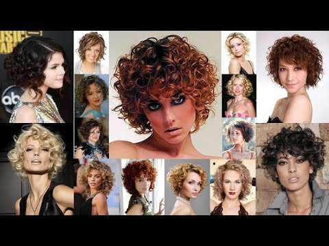2018 Permed Short Hairstyles For Women Who Love Curls
