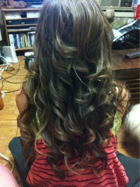 Dark Brown Hair Light Brown