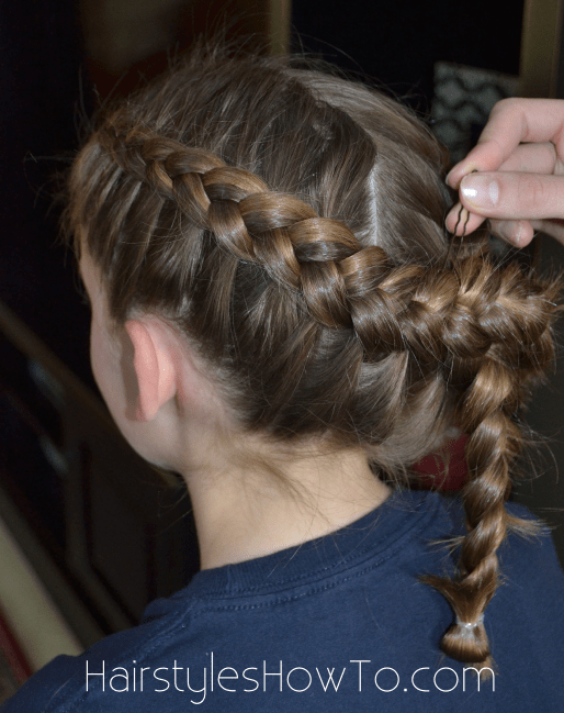 Dutch Braids Into Bun Tutorial Hairstyles How To