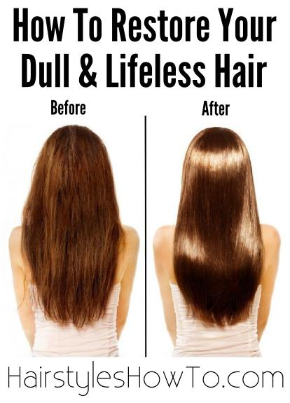 Restore Your Dull Amp Lifeless Hair Hair And Beauty