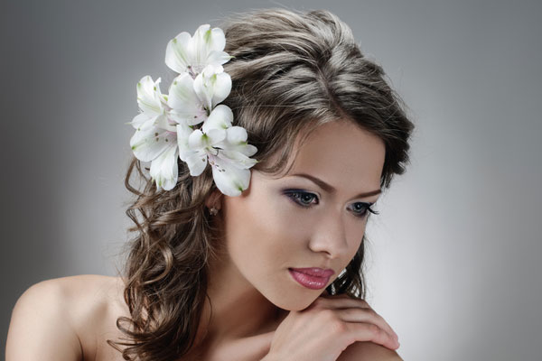 The Hair Down Wedding Hairstyle