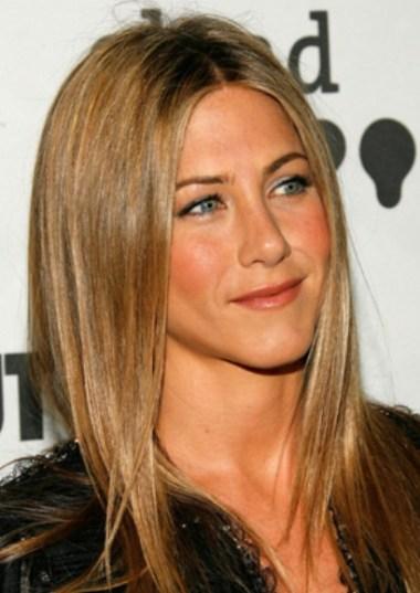 Jennifer Aniston long sleek hairstyle