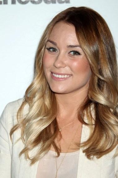 Lauren Conrad Long Wavy hairstyle 2012