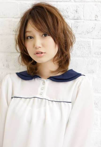 cute short Japanese haircut 2012