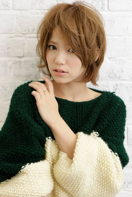 hot Japanese girl hairstyle