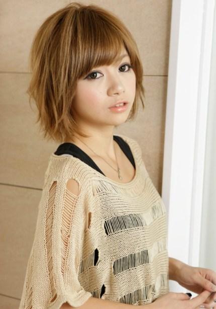 new short Japanese hairstyle