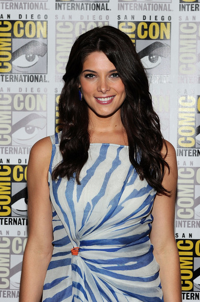 Long Wavy Haircut with Brown Hair Color for Young Women from Ashley Greene