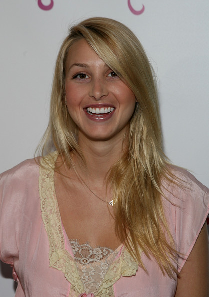 Whitney Port Cute Long Straight Hairstyle With Bangs