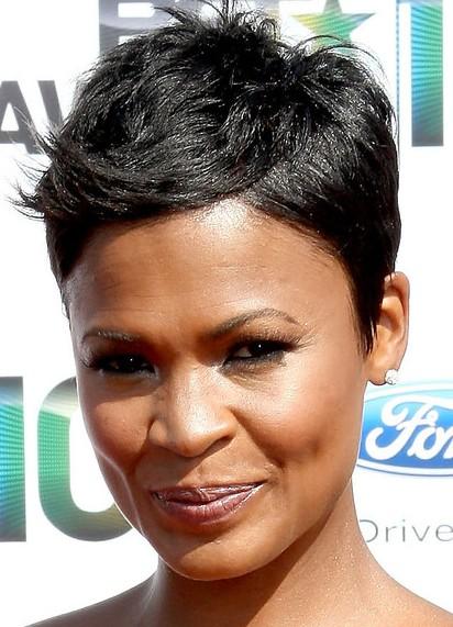 African American Pixie Haircut