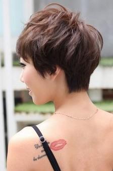 layered razor cut - hairstyles