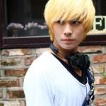 Blonde Korean Hair style for Guys
