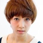 Boyish Japanese Hairstyle for Women