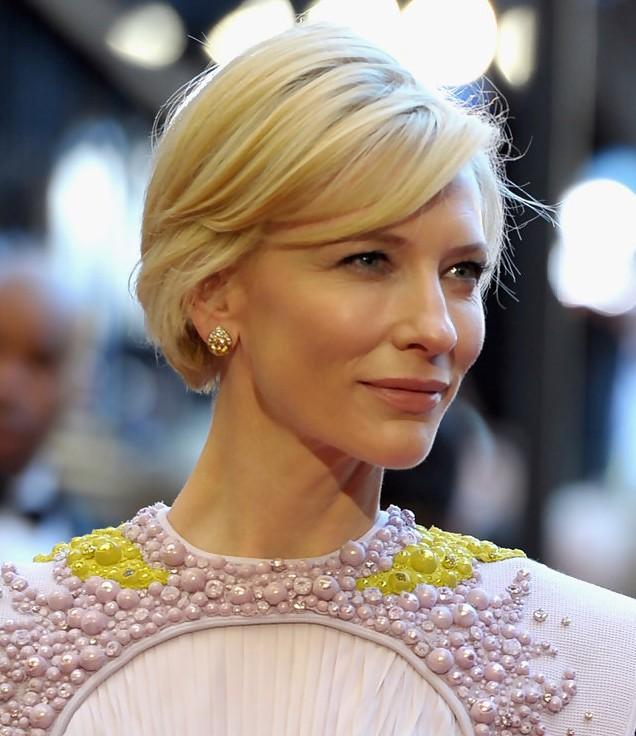 Cate Blanchett Short Hairstyle