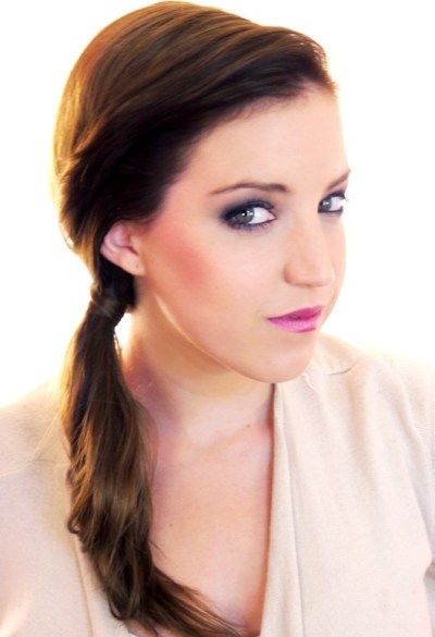 Concealed Ponytail Hairstyle