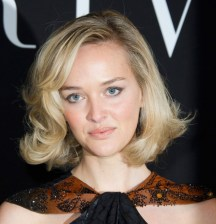 Curly Blonde Bob Hairstyle