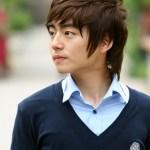 Cute Korean Hairstyle for Guys