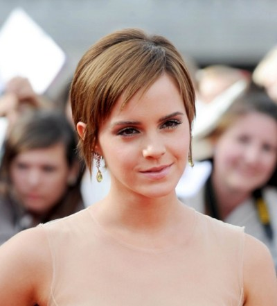 Emma Watson Pixie Haircut