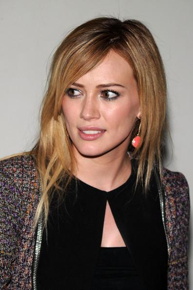 Hilary Duff Medium Hairstyle