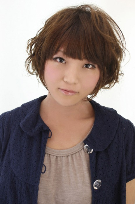 cute short japanese hairstyles