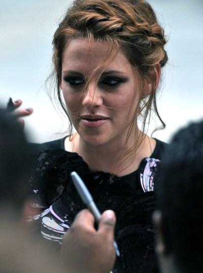 Kristen Stewart Braided Hairstyle