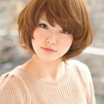 Short Japanese Hairstyle for Fall