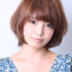 Short Straight Japanese Hairstyle
