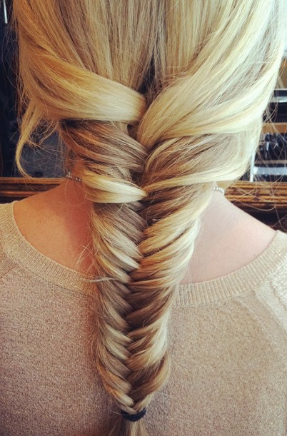 Image result for fishtail braid