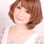 Sweet Short Japanese Hairstyle