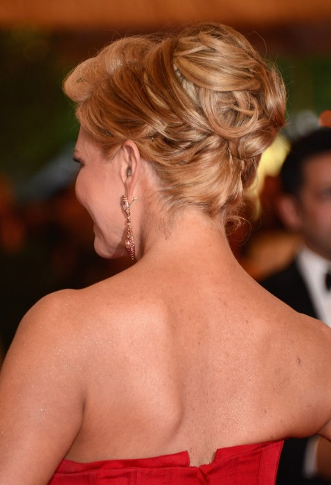 2013 Popular Updos: Bobby Pinned Updos for Prom and Wedding
