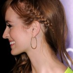 Adorable Slim French Braid - Best French Braid Hairstyles