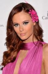 Alyssa Campanella Long Wavy Red Hairstyle