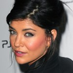 Black French Twist Updo from Jessica Szohr
