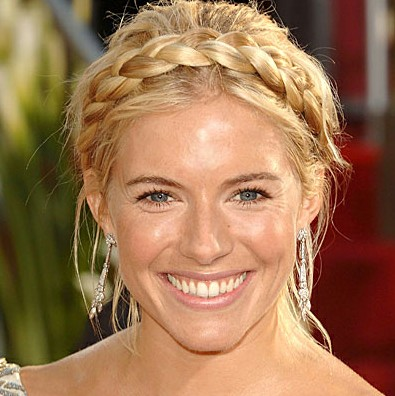 Crown Braid Hairstyles for summer