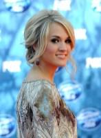 Carrie Underwood Simple Loose Messy Updo