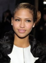 Cassie Side Knot Updo Hairstyle
