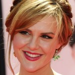Celebrity Braided Updo - Sara Rue Braided Updo