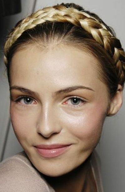 Romantic Crown Braid Hairstyles