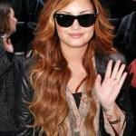 Demi Lovato Long Wavy Hairstyle
